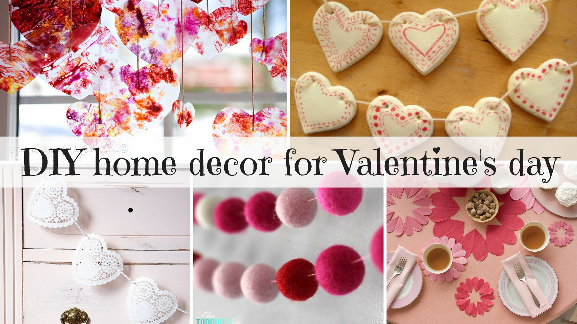 DIY home decor for Valentine's day (30+ great ideas!)