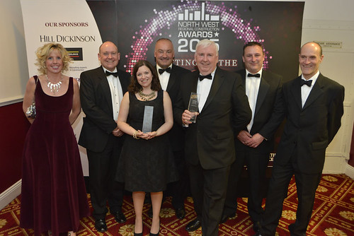 The Balfour Beatty team with two of their awards