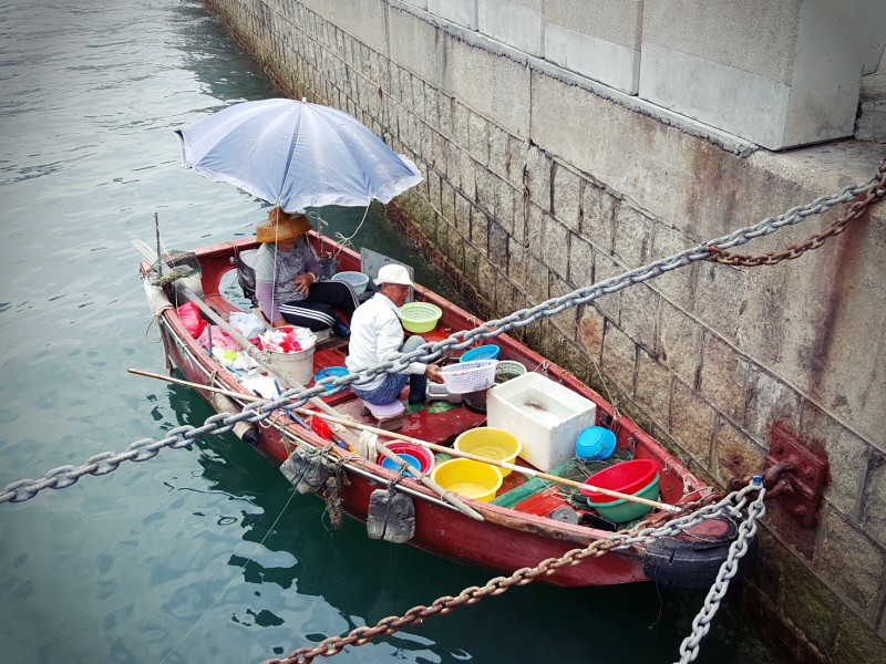 Aberdeen fishermen Hong Kong
