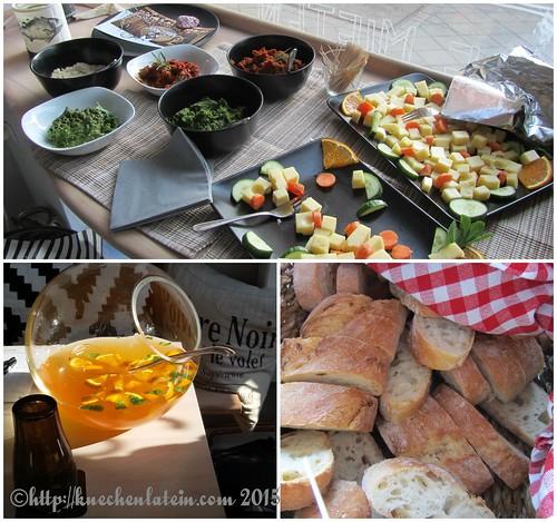 ©Gin Workshop in den Räumen Küche Ahoi - Collage Snacks