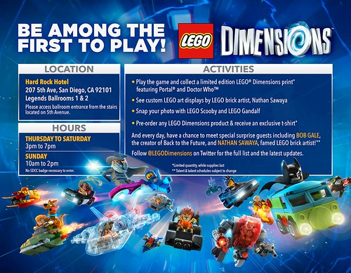 LEGO Dimensions SDCC
