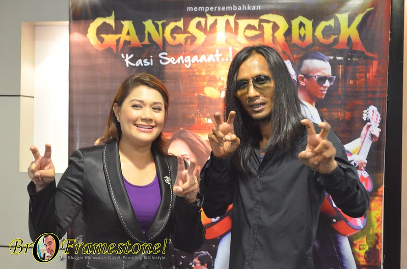 Sidang Media Filem Aksi Komedi Gangsterock