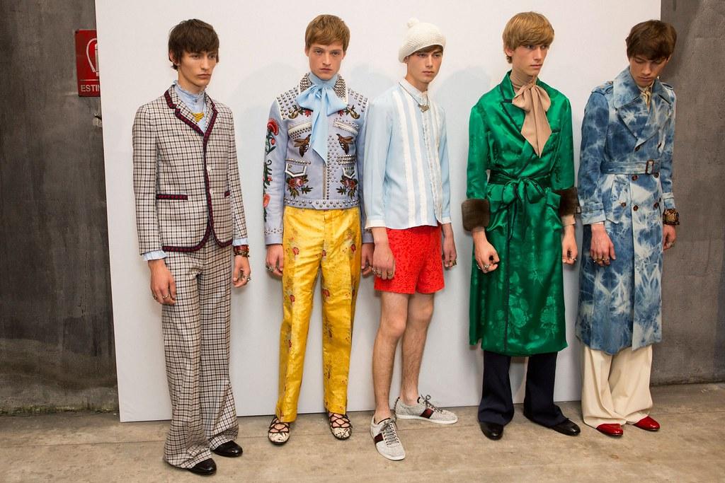 SS16 Milan Gucci237_Arnis Cielava, Dane Bell, Eduard Badaluta, Truls Martinsson, Norman Grossklaus(fashionising.com)