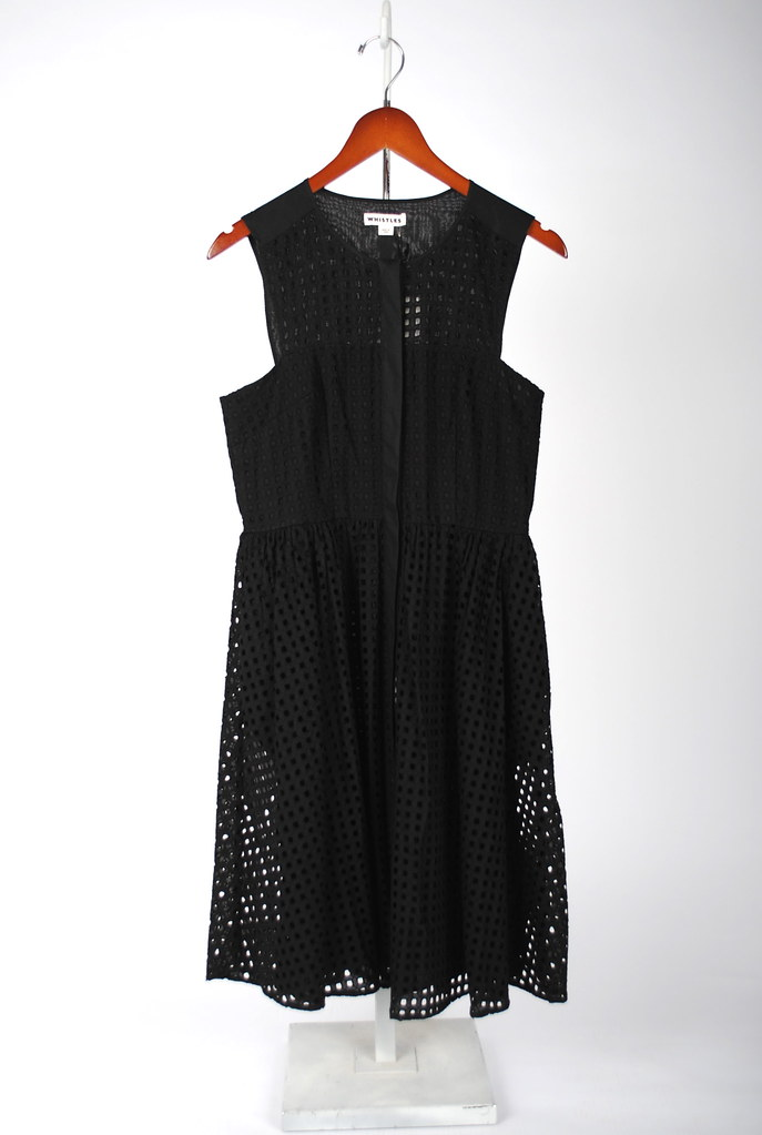Lattice Broderie Lace Dress