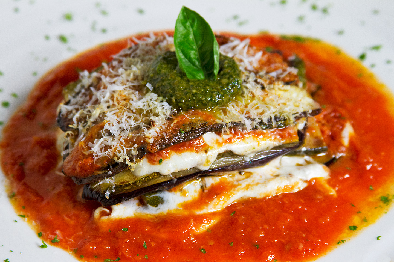 Baked Eggplant & Zucchini Parmigiana