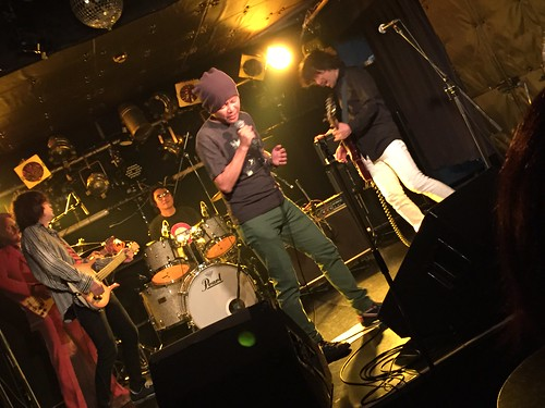 THE ELECTRIC EEL live at ShowBoat, Tokyo, 29 Jun 2015. 3175