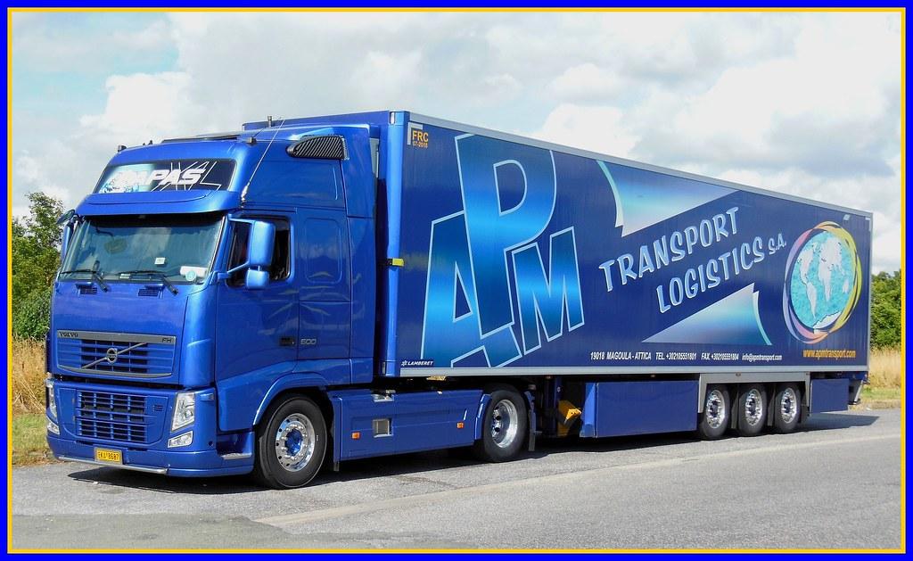 "VOLVO FH 500 Semi-Remorque Frigo Lamberet ""APM Transport"" …   Flickr"