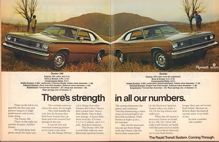 1972 plymouth duster 340 duster advertisement car craft flickr. Black Bedroom Furniture Sets. Home Design Ideas