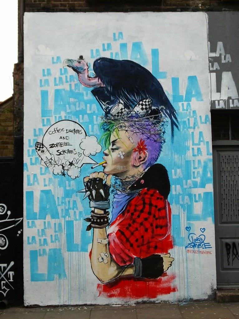 Street Art Shoreditch, London