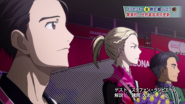 yurio you won gold, cant you just...look happy...