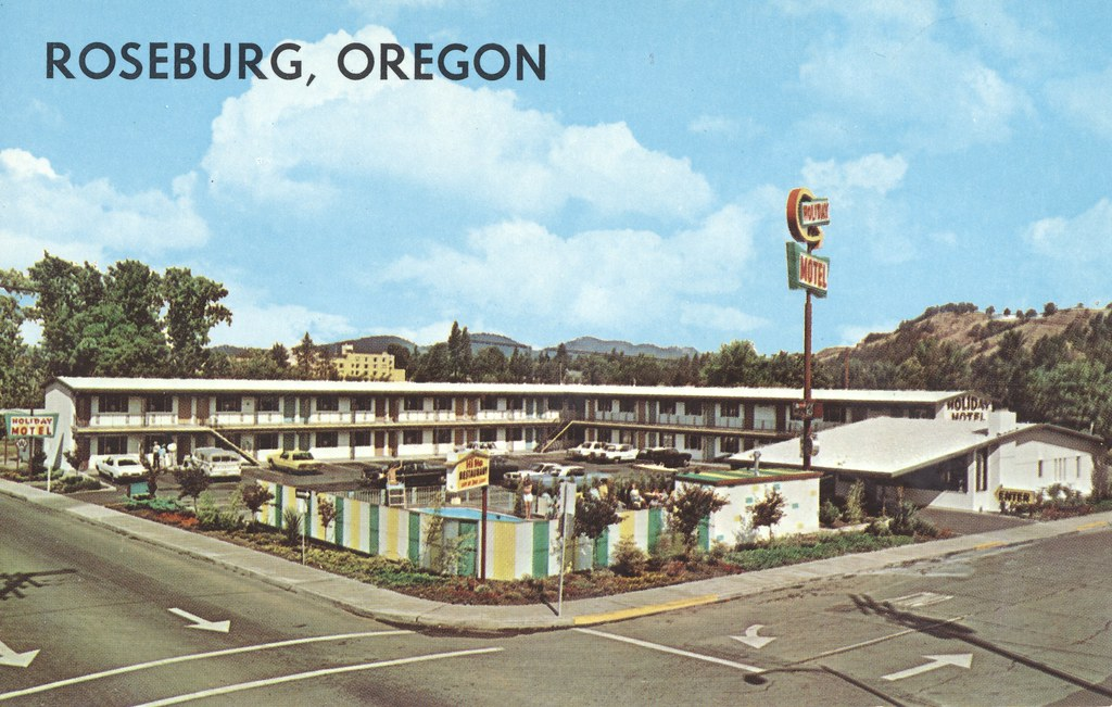 Holiday Motel - Roseburg, Oregon