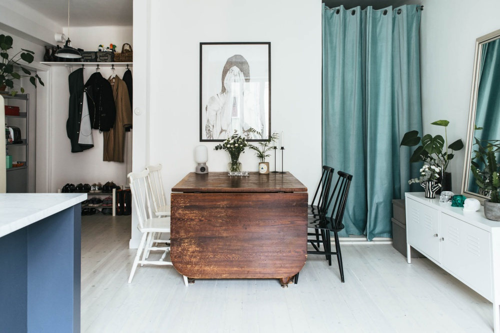 Small Scandinavian Studio Apartment ...