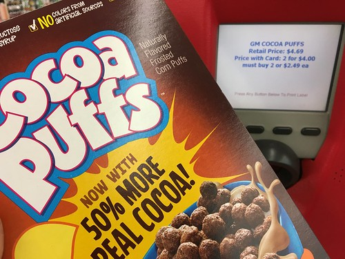 Deal on Cocoa Puffs