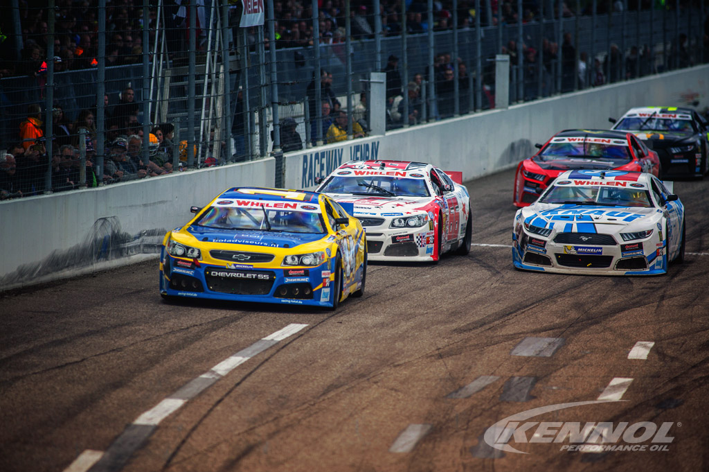 KENNOL Official Supplier and Partner of NASCAR Euro Series.