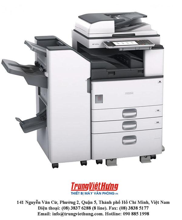 Các lỗi thường gặp trong quá trình xài máy photocopy Ricoh MP3053