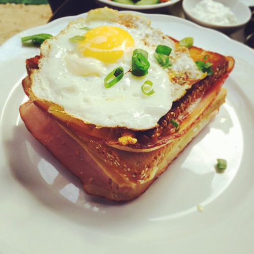 Croque Madame Sandwich #croquemadame #sandwich #food... | by Jonathan ...