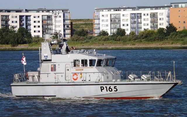 HMS Example P165 (8) @ Gallions Reach 10-06-15