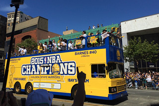 Golden State Warriors - Victory Parade Barnes