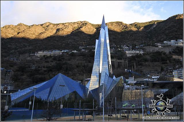 Balneario CALDEA, Andorra la Vella. Andorra.