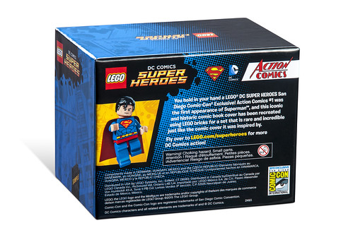 LEGO DC Action Comics #1 Superman