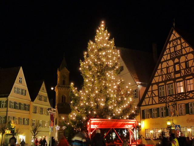 Navidad en Dinkelsbühl (Norte de Baviera, Alemania)