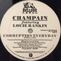 CHAMPAIN:CORRUPTION EVERYDAY(LABEL SIDE-A)