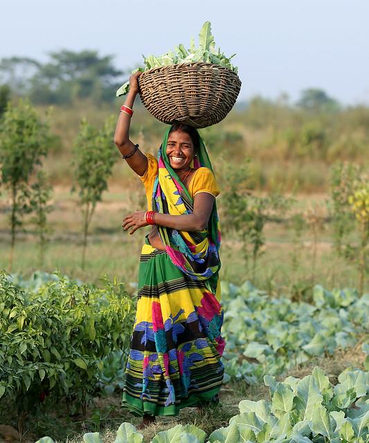 Selling Fresh Harvests in Nepal