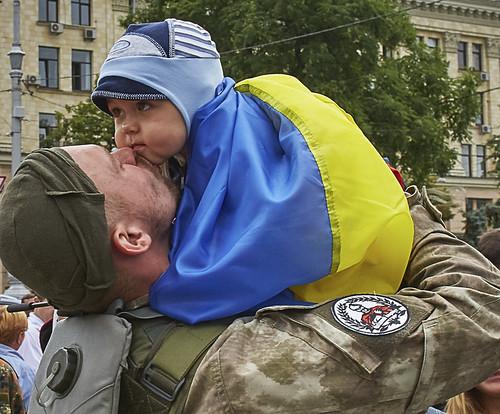 Дитина АТО солдат