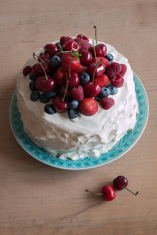blueberry cardamom cake