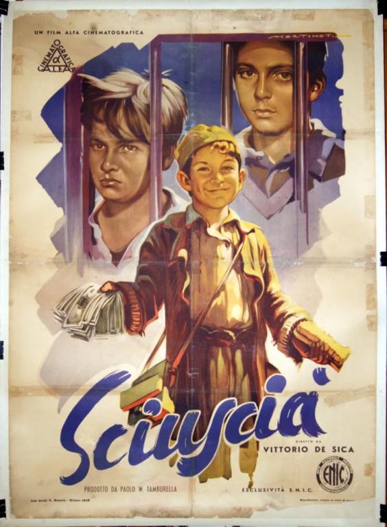 Sciuscià - Poster 1