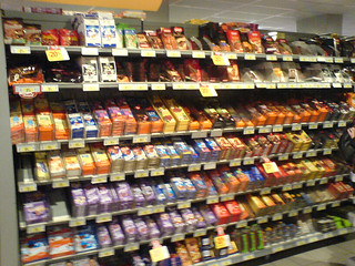 A tour of my grocery store: Chocolate aisle | by clotilde