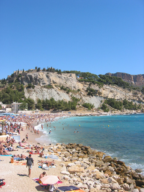 Beach: Cassis, Provence | Bit busy though. | Steve Wilde ...