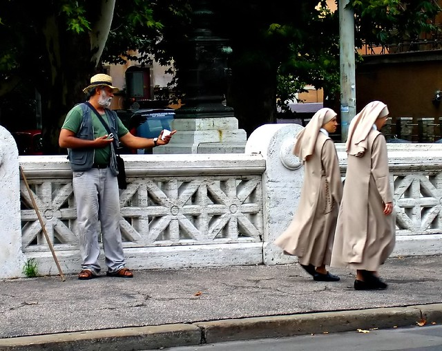 beggar and nuns
