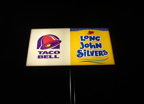 Taco Bell Long John Silver S Sign Justin Baeder Flickr