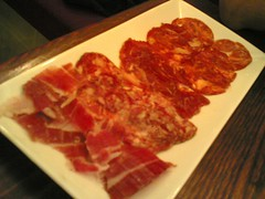 Degustation de charcuteries iberiques | by clotilde