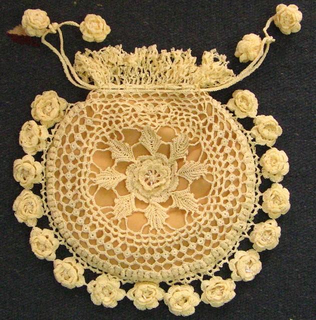 Katchkans Victorian Irish crochet purse I tested this ...