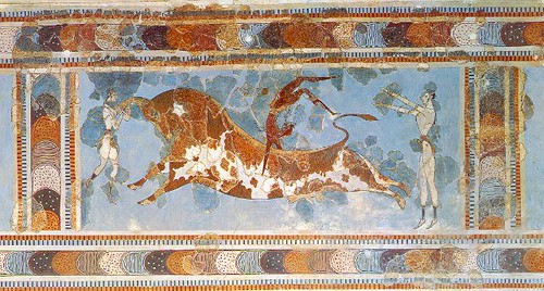 Minoan Palaces in Crete