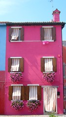 Fabulous pink house in Burano, Italy | by Zoë Power