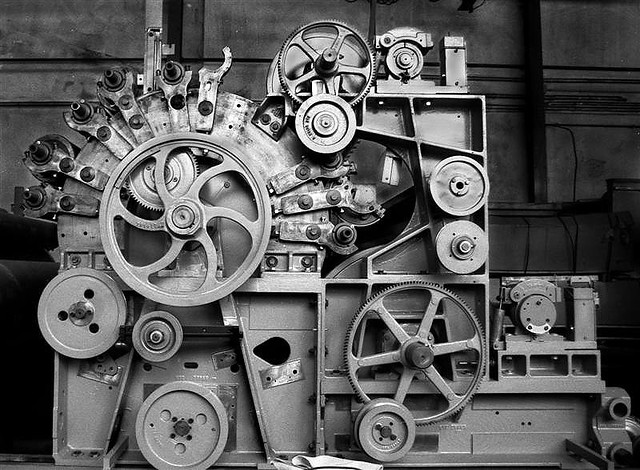 Hq Old Machinery Parts : Machine kardiermaschine eugen stoll flickr