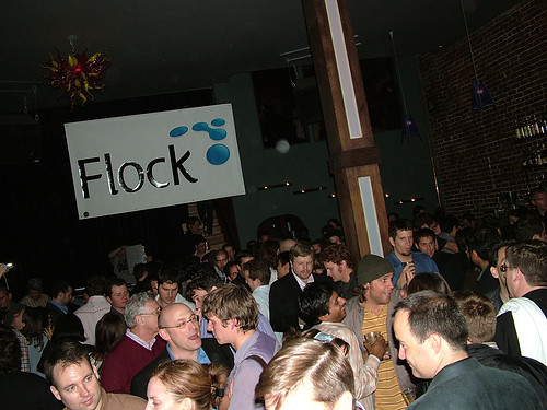 Flock and friends, Colors of the Web 2.0 party! | by Flock Inc