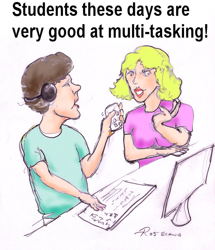the multitasking generation Nevertheless, multitasking often gave people an emotional boost, even when it hurts their cognitive functions, such as writing that is why gen z tend to be misperceiving the positive feelings they get from multitasking.