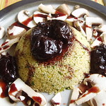 Couscous Tabbouleh with Glazed Prunes
