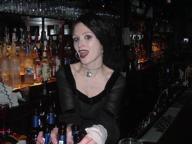 The Hot Goth Girl  Jesse The Bartender  Mandolin78  Flickr-6335