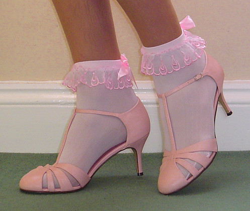 Sissy Shoes White