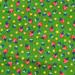 OGBB fabric green strawbs