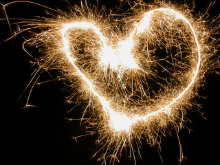 Sparkler heart | by Scoobymoo