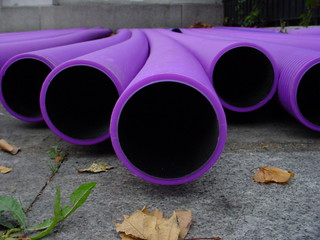 Purple pipes | by imajane