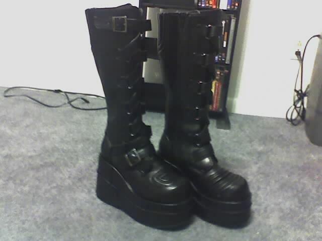 Mid Calf Boots Natural Shoe Shop