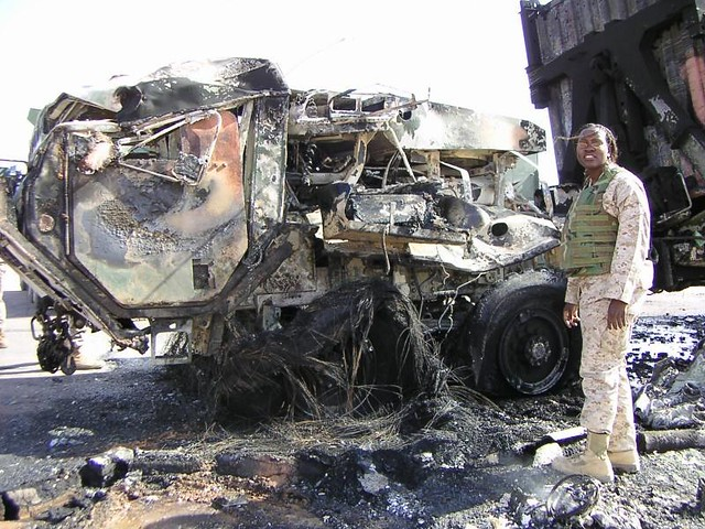 destroyed military vehicle military vehicle destroyed in