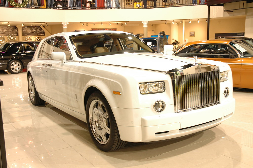 Rolls Royce White >> Rolce Royce Phantom | Edjamacated Guy | Flickr